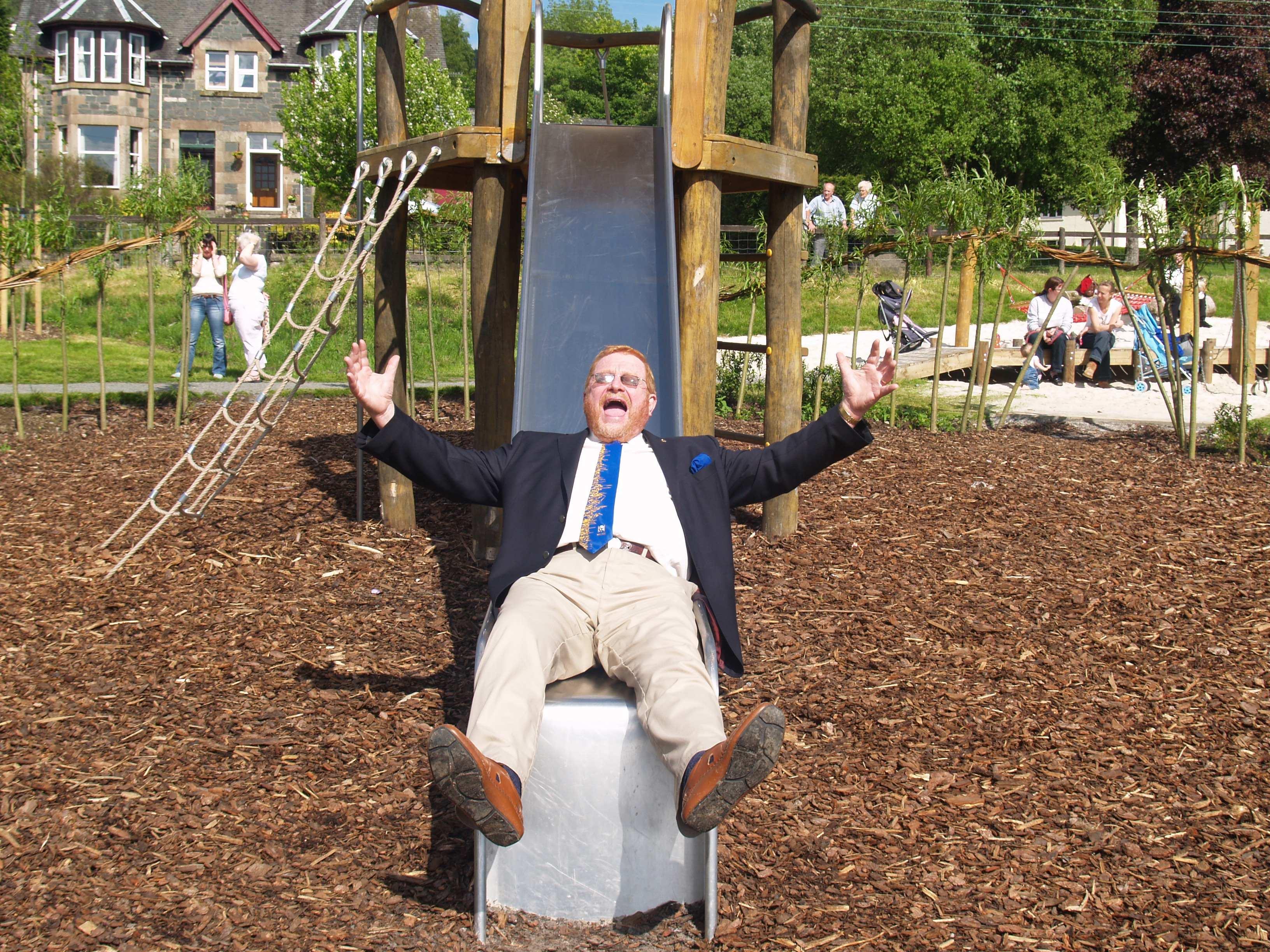 Opening of Aberfoyle Play Park 2008