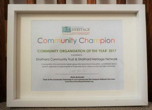 Community Organisation of the Year 2017